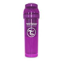 Антиколиковая бутылочка Twistshake 330 мл Фиолетовая (7350083120175)