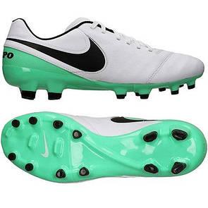 Копы Nike Tiempo Genio II Leather FG 819213-103 (оригинал)