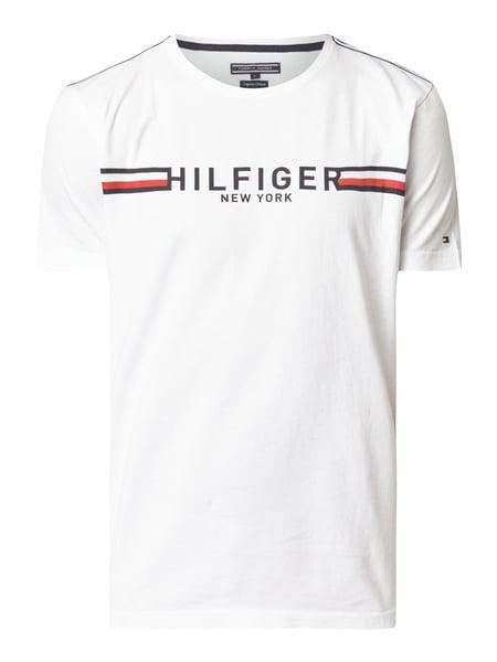Футболка с принтом Tommy Hilfiger 2018  