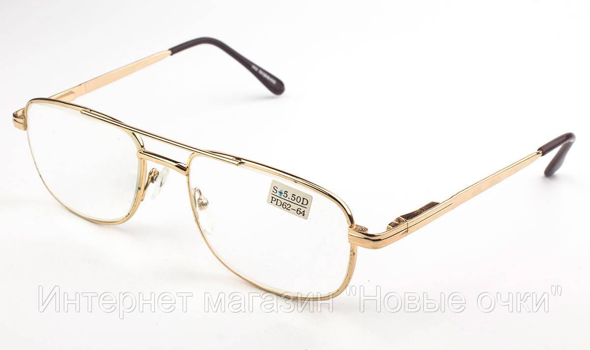 Очки для чтения +5.5 +6.0 мужские VEETON 902