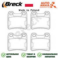 Тормозные колодки на Опель Астра, накладки для Opel Astra  Breck   211400070400