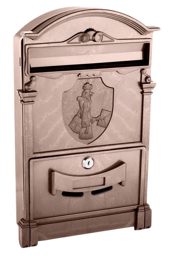 Почтовый ящик   цвет коричневый Почтальон Печкин
