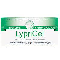 LypriCel, Липосомальная R-альфа-липоевая кислота, 30 пакетиков, 0,2 жидкой унции (5,4 мл) каждый