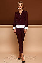 Женский костюм с жакетом и укороченными брюками (Мирей jd), фото 2