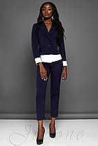 Женский костюм с жакетом и укороченными брюками (Мирей jd), фото 3
