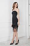 Черное коктейльное платье, фото 2