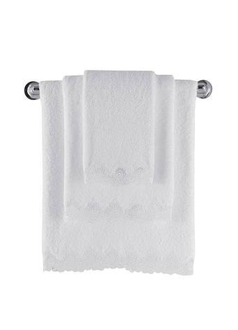 Полотенце Soft Cotton ANGELIC 50*100 50*100, Кремовый, фото 2