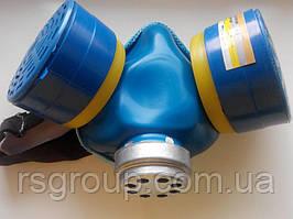 Респиратор РУ-60М марка А1В1Е1Р2ФП (КОМПЛЕКТ с фильтрами) метал.носик размер 3