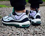 Кроссовки  44 размер мужские Nike AIR MAX 98 М0063, фото 5