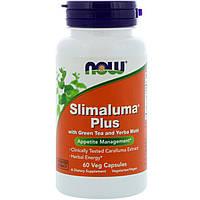 Now Foods, Slimaluma Plus, 60 растительных капсул
