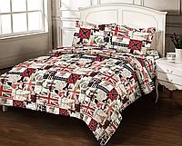 Комплект постельного белья Zastelli Премиум бязь Евро 4389-11 арт.14195
