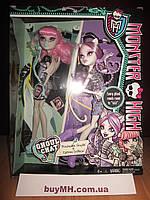 Набор Monster High Ghoul Chat Doll 2-Pack Rochelle Goyle & Catrine DeMew Рошель Гойл и Катрин ДеМяу Монстрочат
