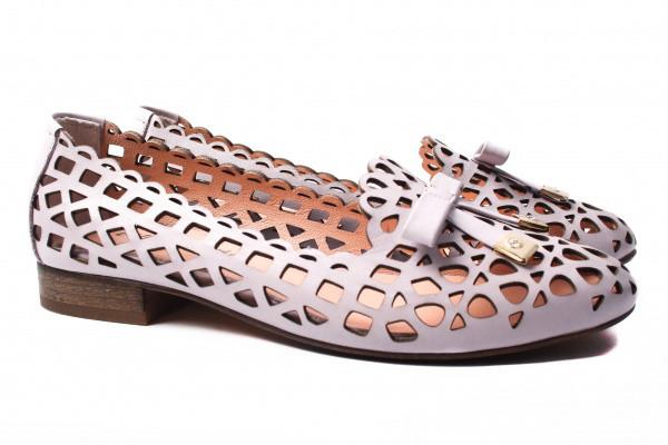 Туфли комфорт Euromoda натуральная кожа, цвет фиолетовый