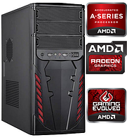 Системник ДВА Ядра AMD A6 2x3.8GHz/ 4Gb DDR3 / 500Gb HDD /Видео Radeon Системный блок, Компьютер, ПК
