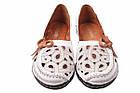 Туфли комфорт Euromoda натуральная кожа, цвет белый, фото 4