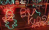 Уличная гирлянда дюралайт 3-х жильная 10 метров (белая, синяя, мульти, красная, зеленая), фото 2