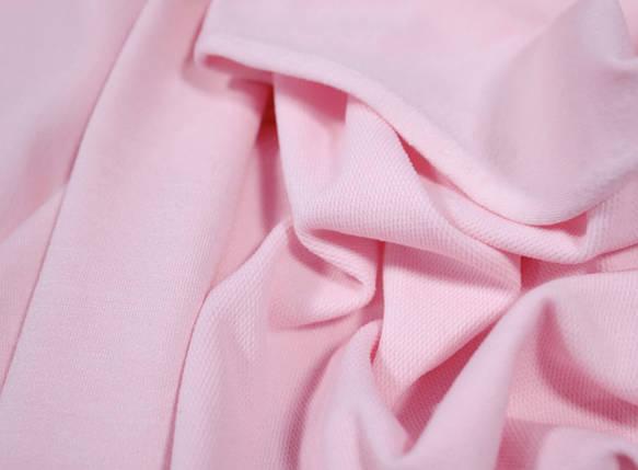 Футер двунитка розовая (180 см), фото 2