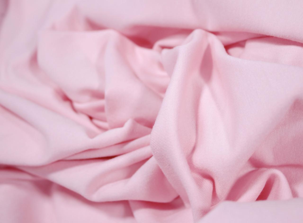 Футер двунитка розовая (180 см)