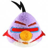 Мягкая игрушка - ANGRY BIRDS SPACE (птичка лазерная, озвуч., 12см)