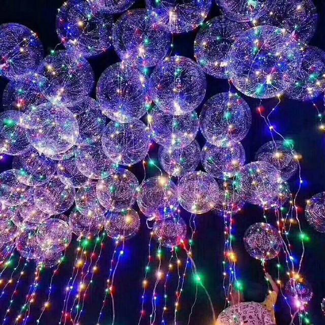 Прозрачные светодиодные шары в Днепре