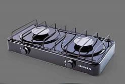 Плита газовая двухгорелочная бытовая ПГ2-Н без крышки