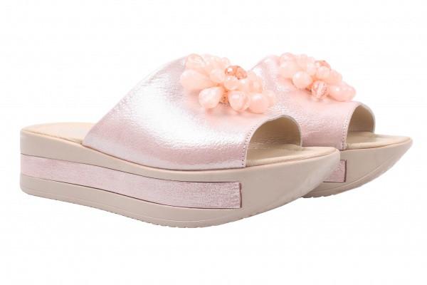 Шлепанцы Kesim натуральный сатин, цвет розовый