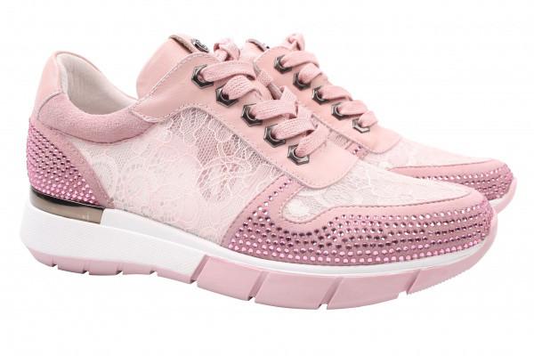 Кроссовки женские летние Deenoor комбинированные, цвет розовый
