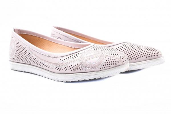 Туфли комфорт Foletti натуральная кожа, цвет розовый