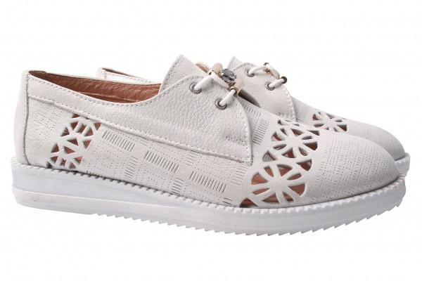 Туфли комфорт Destino натуральный сатин, цвет серый