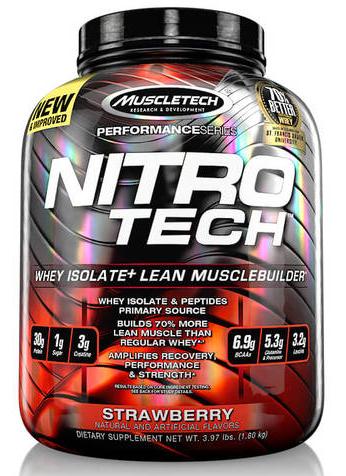 MuscleTech Nitro-Tech Whey Isolate 1800g