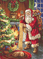 "Набор для вишивания гобелена ""Luca-S"" G578 Дед Мороз"