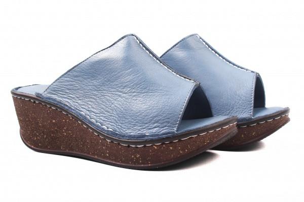 Шлепанцы Meldymoor натуральная кожа, цвет синий