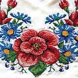 Белое женское платье вышиванка Мальва , фото 2