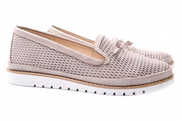 Туфли комфорт Guero натуральный сатин, цвет капучино