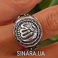 Серебряное мусульманское кольцо Аллах , фото 9