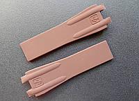 Ремешок к часам Ulysse Nardin коричневый, двухстержневой, фото 1