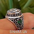 Серебряное мусульманское кольцо Аллах , фото 8
