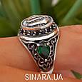 Серебряное мусульманское кольцо Аллах , фото 7