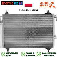 Радиатор кондиционера на Фольксваген Гольф, конденцер для Volkswagen Golf  Thermotec   KTT110024
