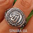 Серебряное мусульманское кольцо Аллах , фото 5