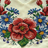 Женское платье вышиванка Мальва айвори , фото 2