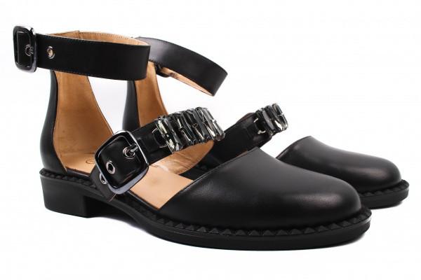 Туфли комфорт Lottini натуральная кожа, цвет черный