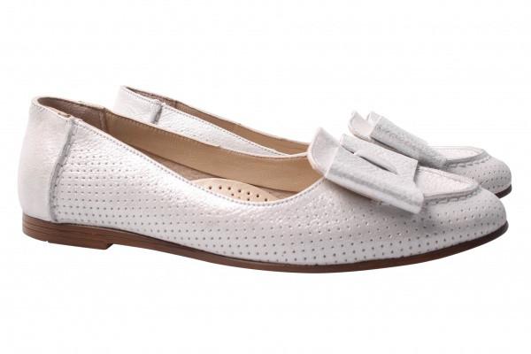 Туфли комфорт Savino натуральный сатин, цвет белый