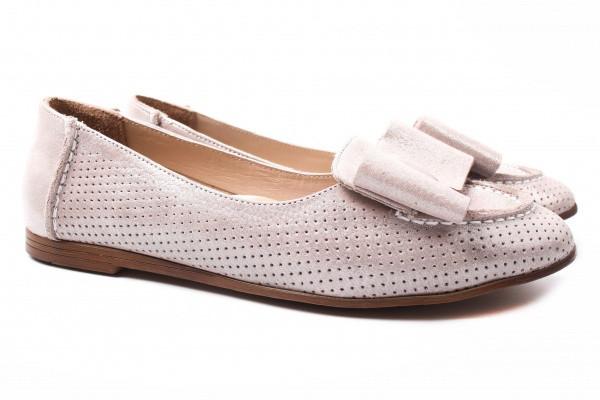 Туфли комфорт Savino натуральный сатин, цвет капучино