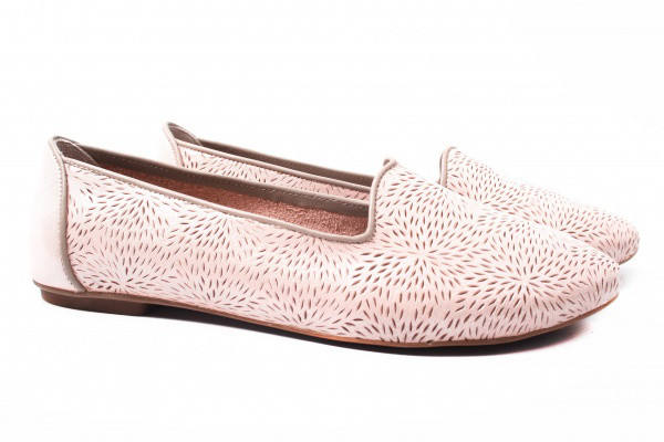 Балетки Savino натуральный сатин, цвет розовый
