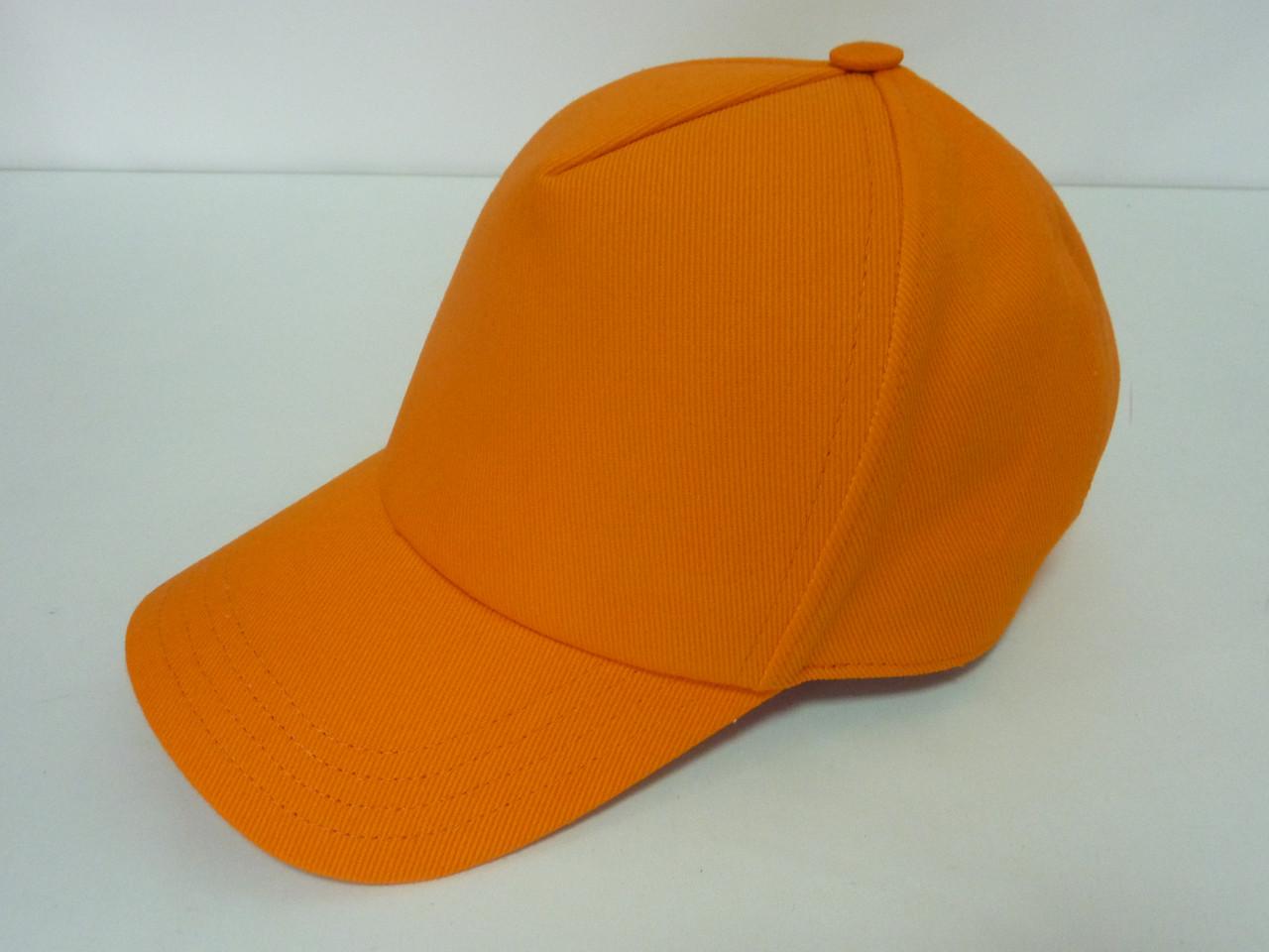 Кепка тракер оранжевая