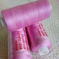 Нить швейная Ninatex 400 ярдов, светло-розовый.