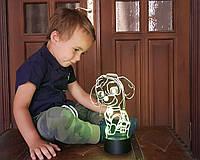 """Детский ночник - светильник """"Щенячий патруль 2"""" 3DTOYSLAMP, фото 1"""