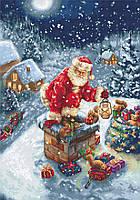 """Набор для вышивания крестом """"Luca-s"""" B577 Дед Мороз"""
