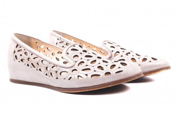 Туфли комфорт Magnolya натуральный сатин, цвет капучино